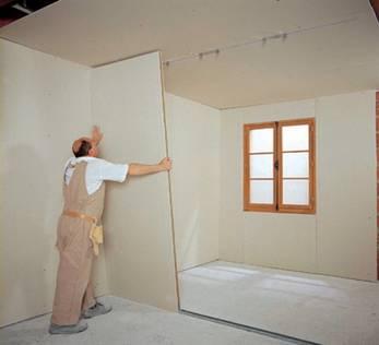 cloison de distribution placopan pour artisan bourdall mat riaux lille. Black Bedroom Furniture Sets. Home Design Ideas